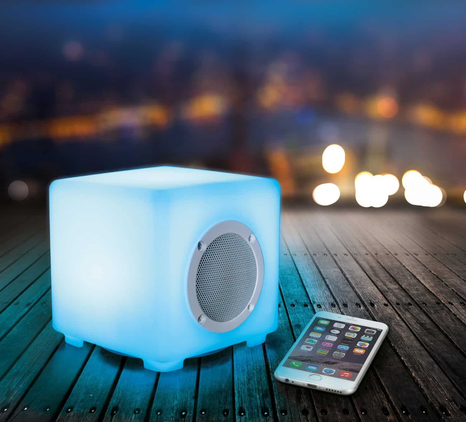 KitSound Glow Wireless Bluetooth Speaker