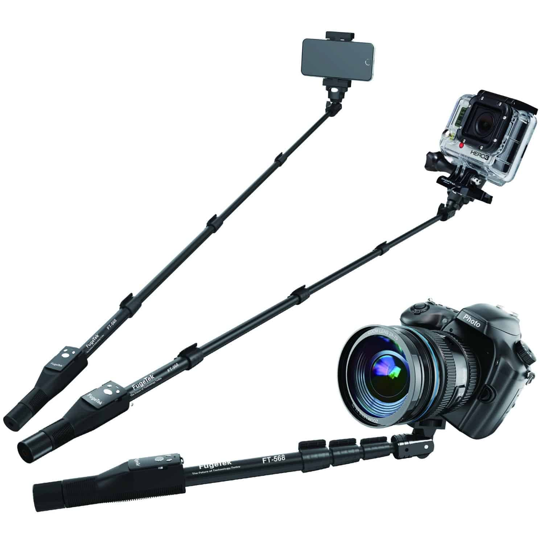 FugeTek Pro Extendable Bluetooth Selfie Stick