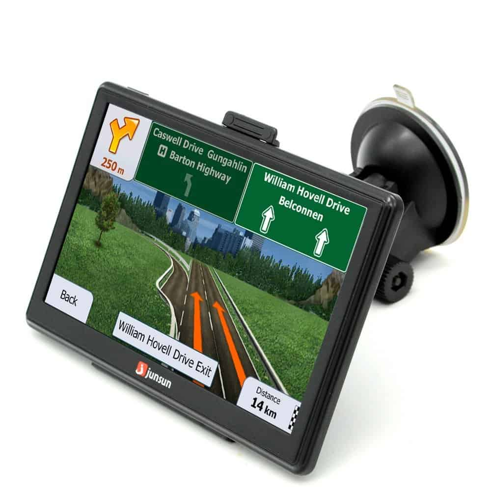 Junsun 7″ GPS Sat Nav Tablet Review