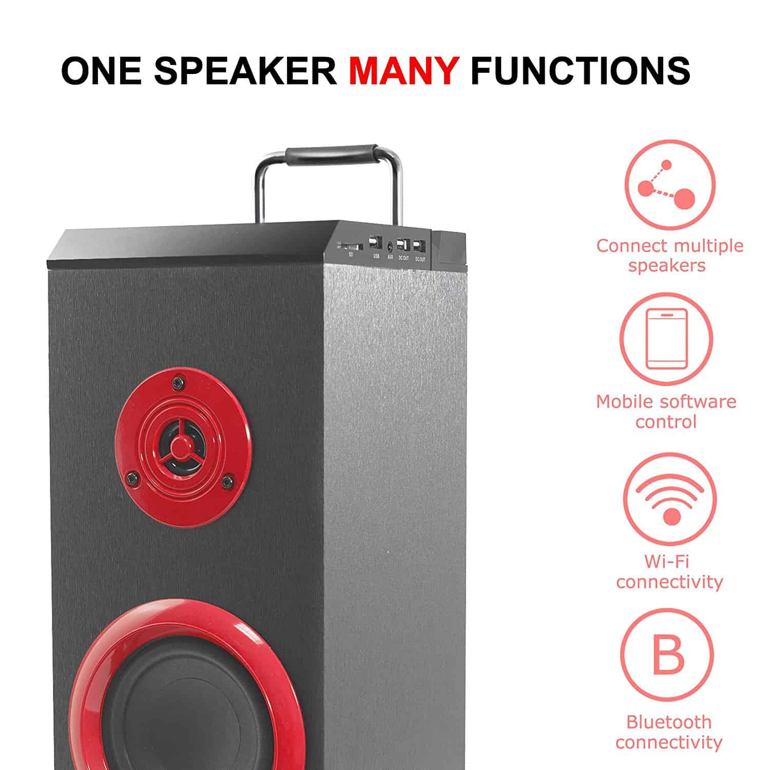 Sumvision PSYC Torre WX Wi-Fi & Bluetooth Tower Speaker Review