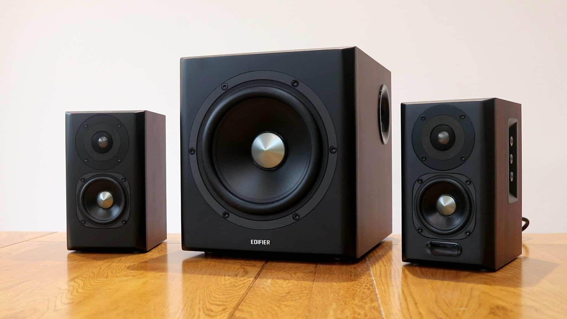 Edifier S350DB 2.1 Bookshelf Speaker and Subwoofer Review