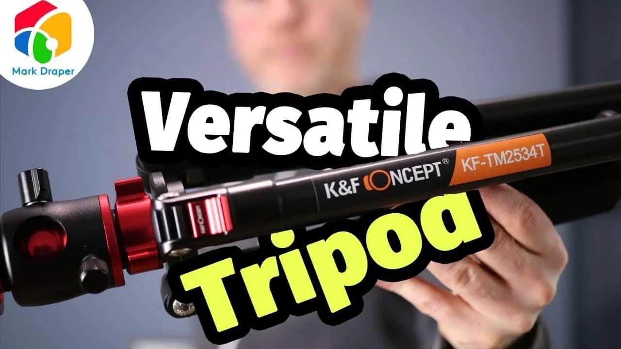 K&F KF-TM2534T Tripod Review