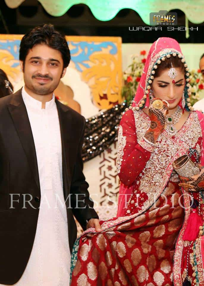 Sana And Babar Khans Wedding Pictures Reviewitpk