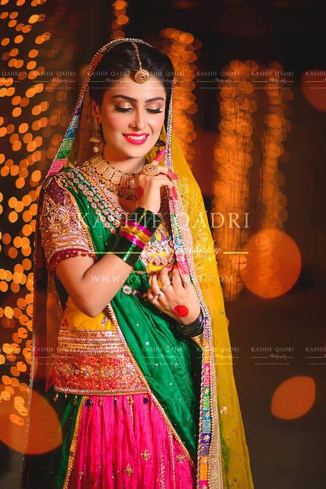 Aiza Khans Mehndi Photoshoot Reviewitpk