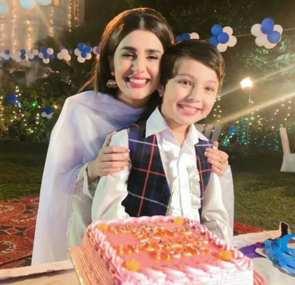 Happy Birthday Cake Hamza