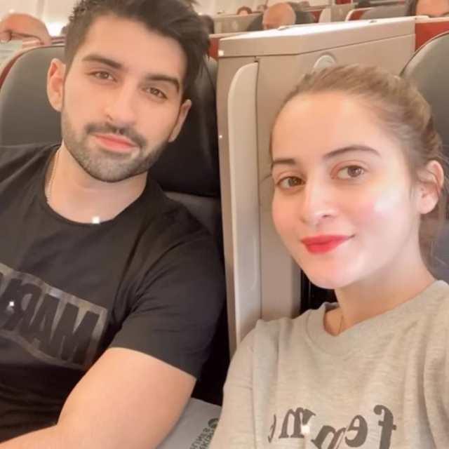Aiman Khan and Muneeb Butt Enjoying Holidays in Turkey - Day 1