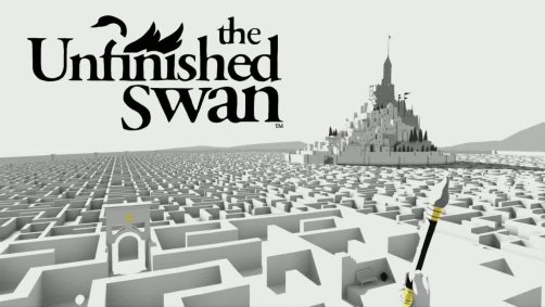The Unfinished Swan Title
