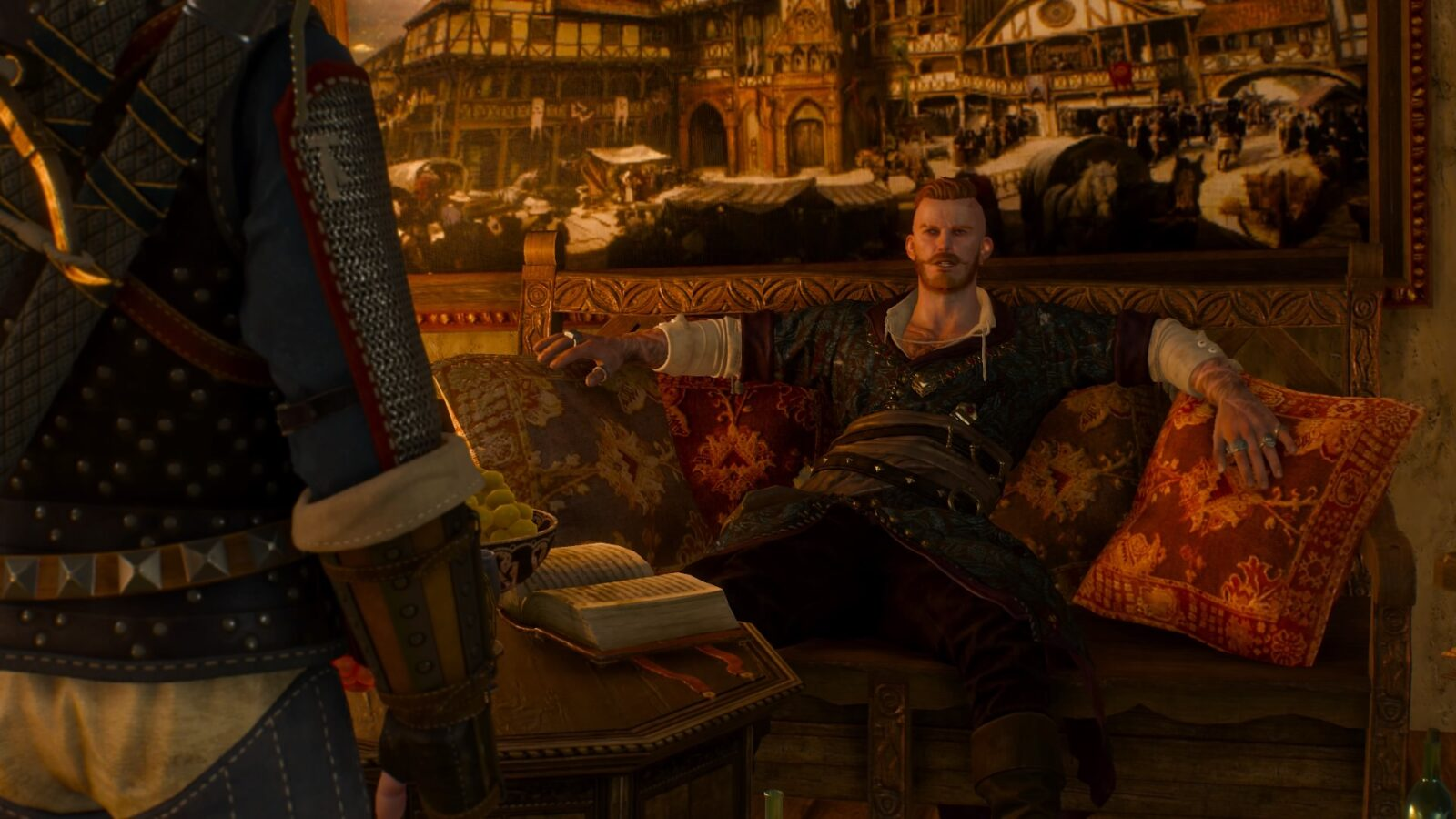 Witcher gets involved in a threesome with 2 medieval ladies - 5 3