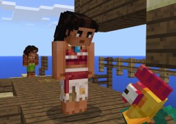 Minecraft – Moana Character Pack Trailer