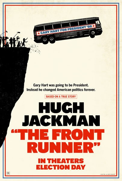 Image result for movie poster front runner
