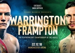 Warrington vs Frampton live stream: how to watch tonight's boxing online from anywhere
