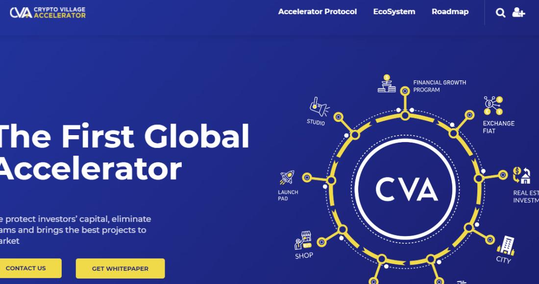 Crypto Village Accelerator Review CVA Review CVA Token Review Is Crypto Village Accelerator Legit