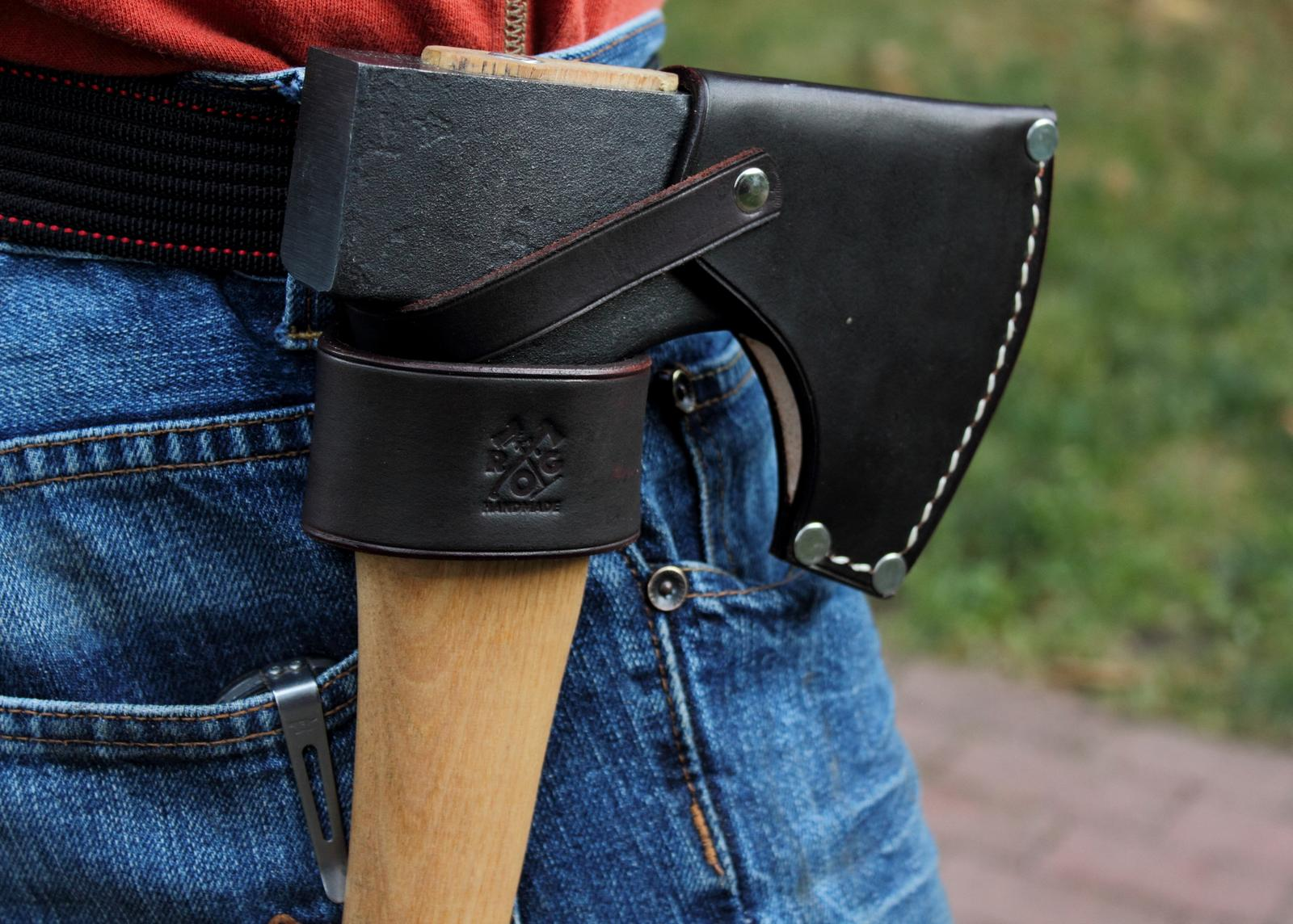 buy axe holster for any hatchet or small axe