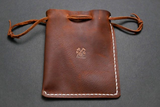 Handmade Rustic Leather Multipurpose Pouch-07