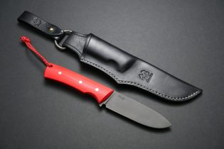 Leather Sheath and Dangler for Gough Resolute MkIII