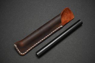 Ferrocerium Firesteel and Leather Sleeve