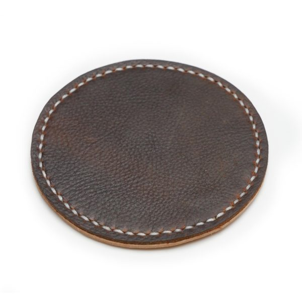 Handmade Leather Coaster for Cup or Mug