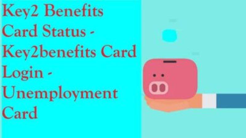 Key2 Benefits Card Status - Key2benefits Card Login
