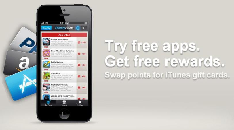 feature points downloading free apps the right way