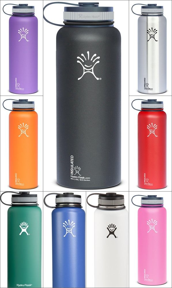 Hydro Flask Review: Insulated Stainless Steel Water Bottle, Wide Mouth, 40-Ounce 1