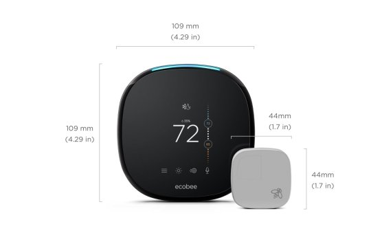 ecobee4 Alexa-Enabled Thermostat with Sensor [Review]