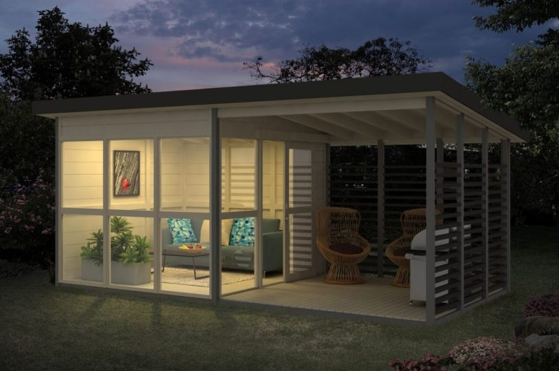 DIY: Build a Garden House in 8 Hours or Less 2