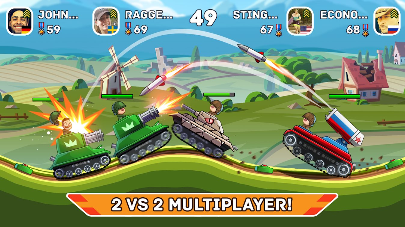 Hills of Steel Android Game Review