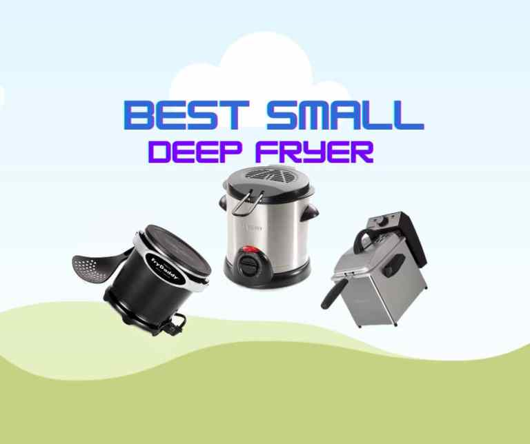 Top 7 Best Small Deep Fryer to Buy