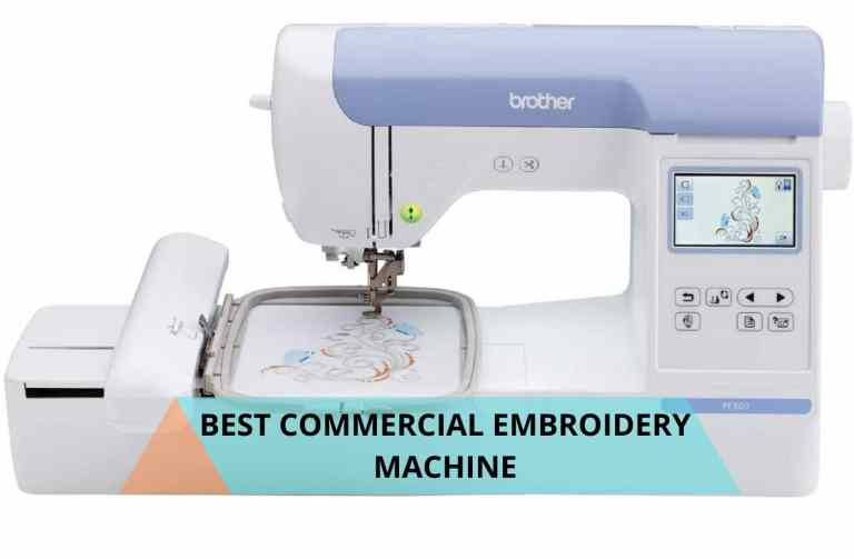 Best Commercial embroidery machine review