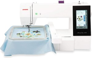 Janome memory craft 500e review and Best price