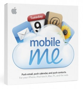 Mobile Me for iPad