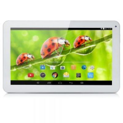 iRULU eXpro X1s 10.1 Inch Quad Core Google Android 5.1 Lollipop Tablet PC, 1GB RAM, 8GB Nand Flash, 1024x600 Resolution, WiFi, Bluetooth(White)