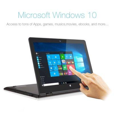 iRulu Walknbook 2-in-1 Hybrid Tablet PC 11.6 inch Touch-screen Laptop, 32GB, Intel Baytrail Quad Core Processor, Windows 10 OS