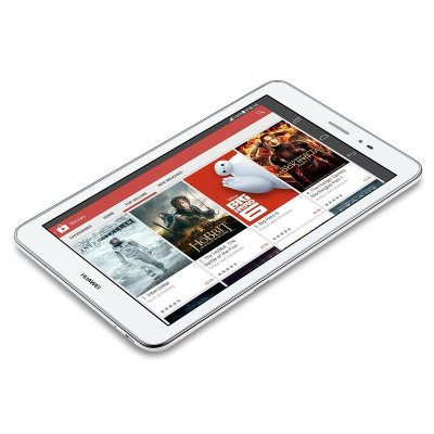 Huawei MediaPad T1 Android Tablet 8 inch 3G Unlocked 2G/3G Voice Supported - Retail Packaging - White/Champagne Gold (U.S. Warranty)