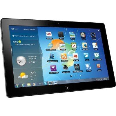 Samsung Premium Series 7 11.6 inch Slate Tablet/Laptop with Docking, Intel Core i5 Processor, 4GB RAM, 128GB SSD, HDMI, Dual Webcam, Bluetooth, Windows 7 Professional (Certified Refurbished)
