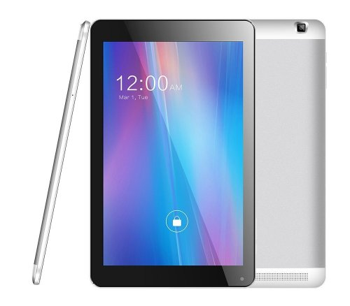 Azpen G1058 4G LTE Unlocked Phone Tablet 10.1 inch 1280x800 HD LCD IPS Quad Core Android 5.1 OS 1GB RAM 8GB Storage Bluetooth GPS FM 2MP front 5MP Rear cameras Ebook Store Google Play