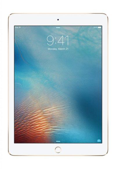 iPad Pro 9.7 inch 256GB Wi-Fi, Retina Display, 2048x1536 Resolution, Wide Color and True Tone Display, Apple iOS 9, Gold 2016 Model