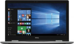 Dell Inspiron 15.6 inch 2 in 1 Convertible Tablet Laptop Full HD Touchscreen, Intel Core i5-6200U 2.3GHz, 8GB RAM, 256GB SSD, Backlit Keyboard, Webcam, WIFI, HDMI, Windows 10, Gray