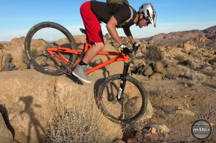 How to ride steep drops with Kirt Voreis