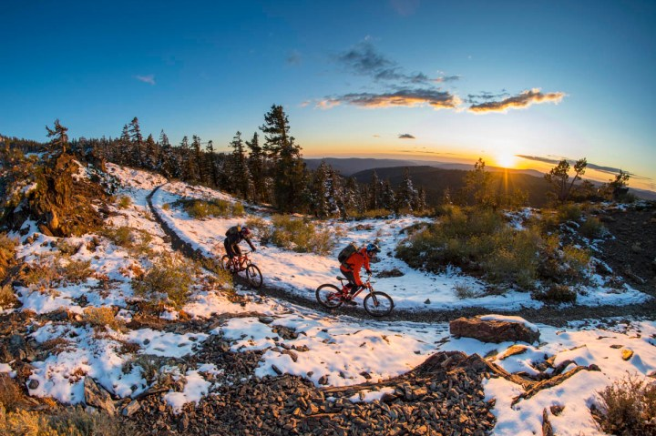 Trail, snow and sky Photos by Scott Markewitz