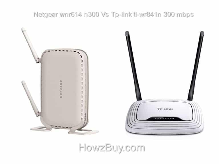 Netgear wnr614 n300 Vs Tp-link tl-wr841n 300 mbps Compare