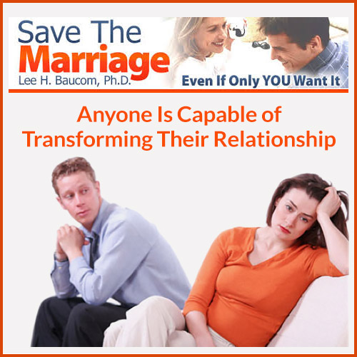 Save The Marriage System by Dr. Lee Baucom