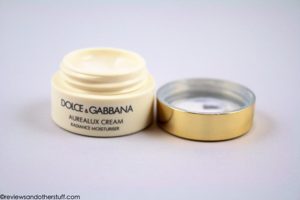dolce and gabbana aurealux moisturiser cream