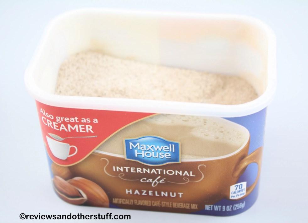 Maxwell House International Cafe Hazelnut Coffee