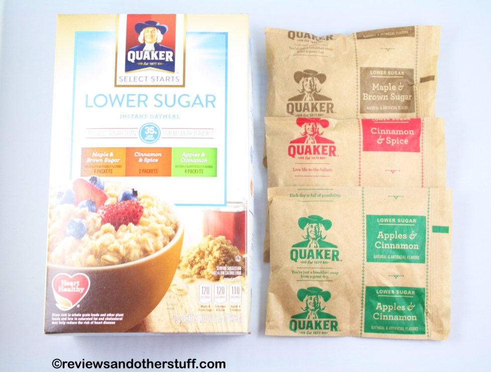 quaker lower sugar variety pouch