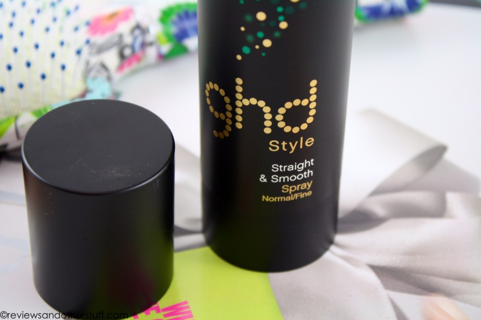 ghd heat protect spray packaging and cap