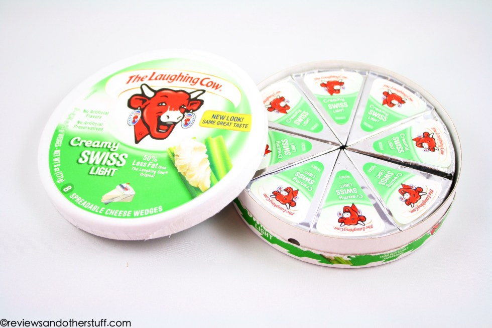 the laughing cow light swiss cheese box