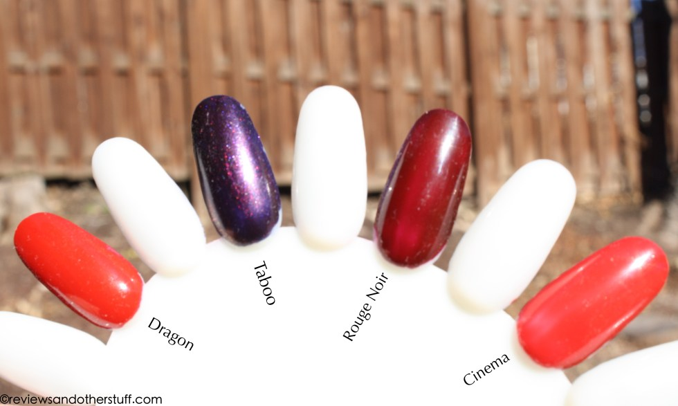 chanel nail polish swatches and review