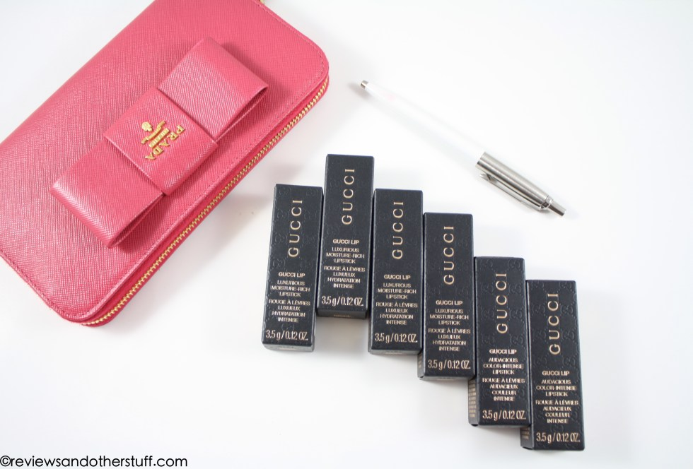 gucci lipstick review