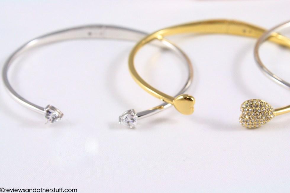 nadri pave heart bracelet and nadri arrow bracelet review